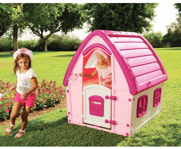 Casetta per bambini pinky for Casetta in plastica per bambini usata