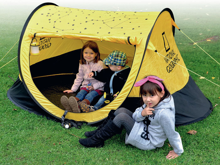 Set OUTDOOR National Geographic torcia tenda binocolo