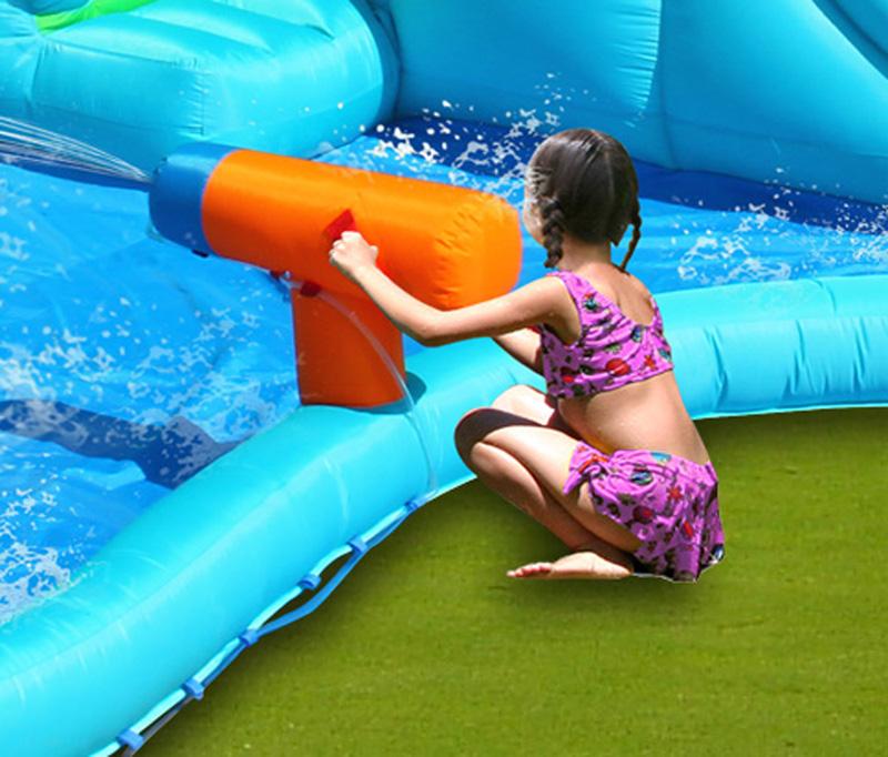 Amato Gonfiabile per bambini CROCODILE con giochi d'acqua | youtoys.it CM09