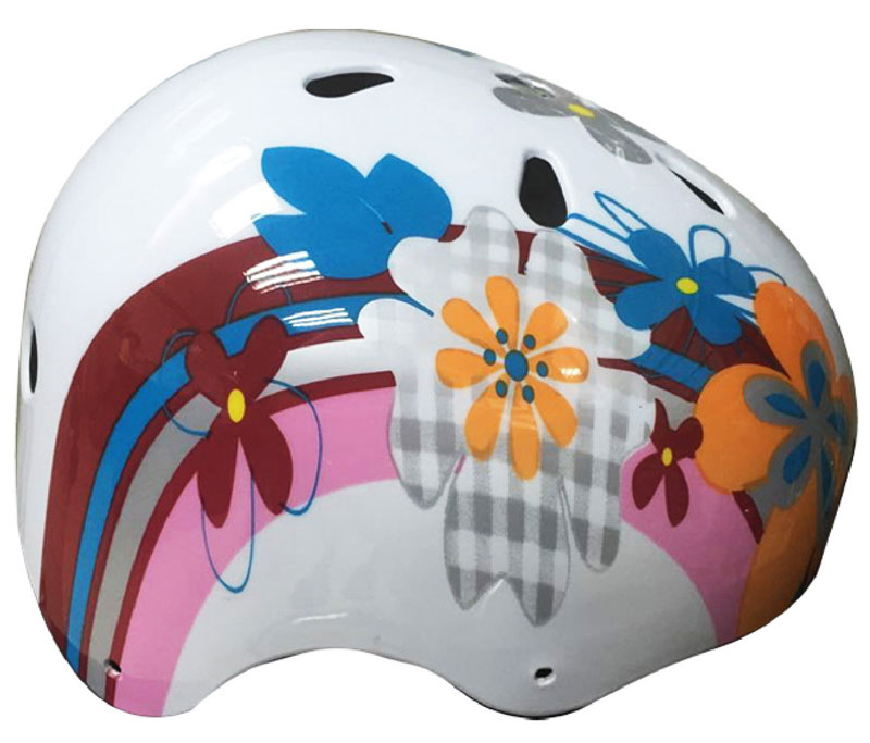Casco da strada FLOWER per pattini e skateboard