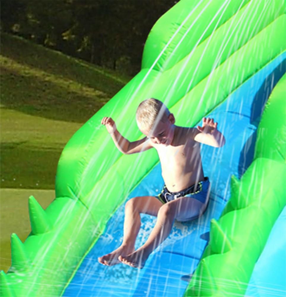 Amato Gonfiabile per bambini CROCODILE con giochi d'acqua | youtoys.it AC23