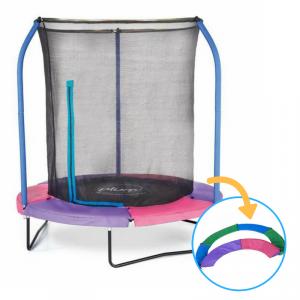 Trampolino elastico JUNIOR PLUS con cuscino reversibile bicolore