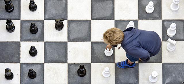 scacchi giganti da giardino