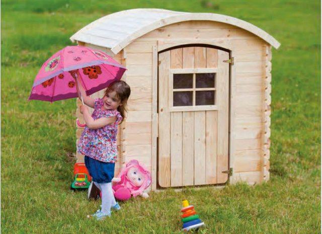 Casette per bambini di legno