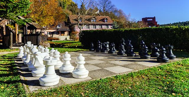 scacchi da giardino