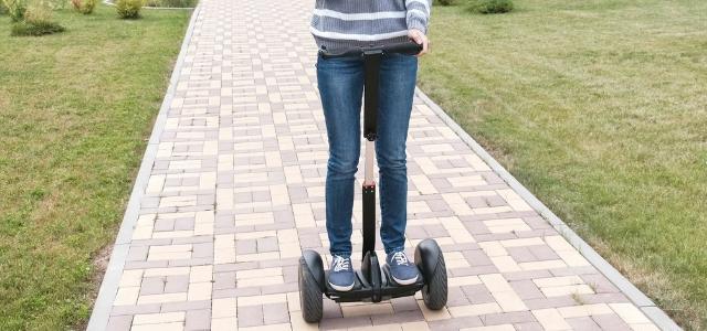 hoverboard con manubrio