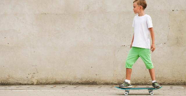 bambino in skate
