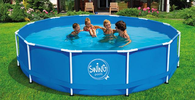 piscine per bambini da giardino frame